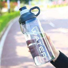gym water bottles Australia - 2000ml Large Capacity Water Bottles BPA Free Gym Fitness Kettle Outdoor Camping Picnic Bicycle Cycling Climbing Shaker Bottles SH190925