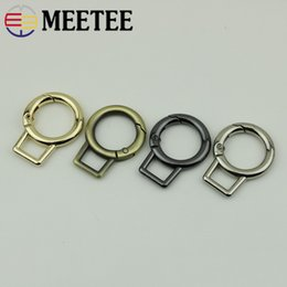 Clever 4pcs 50pcs 19mm Pearl Silver Snap Clip Trigger Spring Ring For Making Purse Bag Handbag Handle Connector Bag Parts Accessories Luggage & Bags