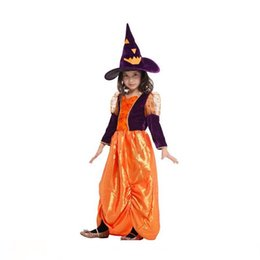 $enCountryForm.capitalKeyWord Australia - 2017 fashion cute high quality happy Halloween Costumes Children's Costumes Cute Pumpkins Witches Princesses Skirts COSPLAY
