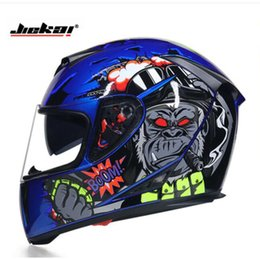 Motorcycle Full Face Helmet Xxl Australia - 2019 New Knight equipment JIEKAI Full Face Motorcycle Helmet ABS Double lens Motorbike Helmets with PC Visor Size M L XL XXL