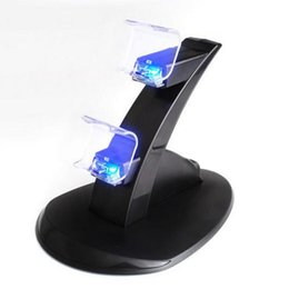 China PS4 Accessories Joystick PS4 Charger Play Station Micro USB Charging Station Stand for SONY Playstation 4 PS4 Controller suppliers