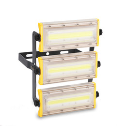 Cob Modules Australia - New Arrive COB LED Flood Light 50W 100W 150W Floodlights Module Combination Waterproof Outdoor Security Spotlight Garden Lamp Lighting 2019