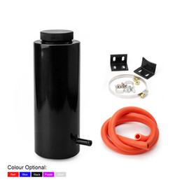 Réservoir de débordement de radiateur de cylindre de 800 ml Réservoir de liquide de refroidissement Universel Peut Noir Bleu Rouge Pourpre Argent YC101142 en Solde
