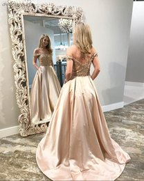 $enCountryForm.capitalKeyWord Australia - Dubai Long Evening Dress Off Shoulder Beaded Saudi Arabian Ladies Formal Gown Long Boat Neck Prom Dress vestidos de novia