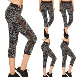 $enCountryForm.capitalKeyWord NZ - Woman Yoga Tight Printe Pant Yoga Pants Leggings Fitness Workout Cropped Pants seamless leggings depo athletic fanatic