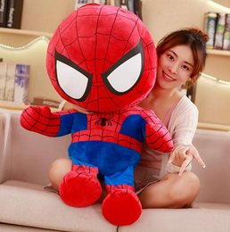 $enCountryForm.capitalKeyWord NZ - 12 men and women like the Avengers doll spiderman plush toy US captain doll doll iron girl girl heart gift 100 cm