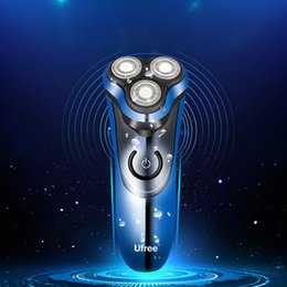 Body float online shopping - Rechargeable Electric Shaver Floating Blade Heads Shaving Razors Face Care Men Beard Trimmer Machine Sarmocare