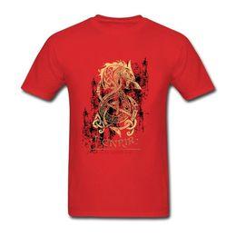 2019 Womens luxury designer t shirts Vikings Berserk T Shirt Fashion  Resilient Cotton 3XL Short Sleeve The Monster Wolf of Norse Mythology 40c2c5b02