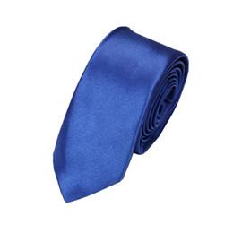 Beige Silk Tie Australia - 5cm solid color Neck ties men casual narrow polyester silk Neckties Man Accessories Simplicity For Party Formal Ties Fashion