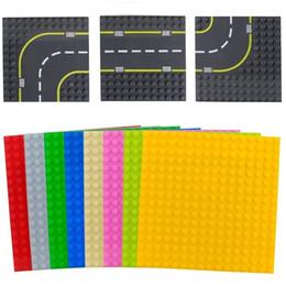 $enCountryForm.capitalKeyWord Australia - Big Size Blocks Base Plate Compatible Duploed Base Plates Large Particle Building Blocks Road Baseplate Diy Block Floor Kids Toy