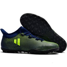 76a012fa4f85 2019 mens X Tango 17.3 TF IC Messi cheap hot new arrival indoor soccer  shoes Predator soccer cleats football boots X 17