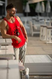 T Shirts New Words Australia - Free shipping 2018 word vest fitness summer new vest running training suit sleeveless vest casual T-shirt