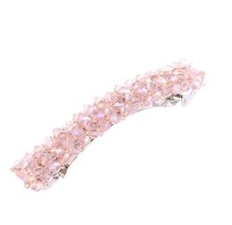 Hair accessories snap clip online shopping - Elegant Bow Metal Rhinestone Hair Clip Women Clips Barrettes Crystal Hairgrips Waterdrop Hairpins Hair Accessories Snap Clips