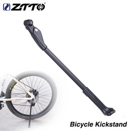 $enCountryForm.capitalKeyWord Australia - Carbon Bike Adjustable Kickstand Side Stay For 26 27.5 29 700c Bicycle Rack Kick Lightweight Stands MTB Road Bike Quick Release #262620