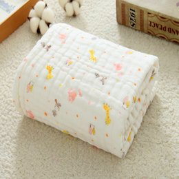 Children Towel Blanket Australia - 6 layer gauze bath towel, pure cotton boy quilt covered with baby blanket, air conditioner is thickened and children are covered.