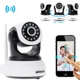 infrared hd webcam UK - Wifi IP Camera Surveillance 720P HD Night Vision Two Way Audio Wireless Video CCTV Camera Webcam Baby Monitor Home Security System