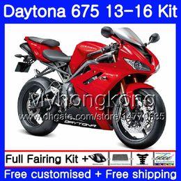 $enCountryForm.capitalKeyWord Australia - Bodys For Triumph Daytona 675 2013 2014 20 15 2016 Bodywork 328HM.44 Daytona675 Daytona-675 Daytona 675 13 14 15 16 Glossy red hot Fairing