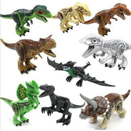 Big Building Blocks children online shopping - DIY toys Dinosaur Series Toys Big Dinosaurs Child Toy Dinosaur Building Block Dinosaur Model toy Decorative Objects T8G003