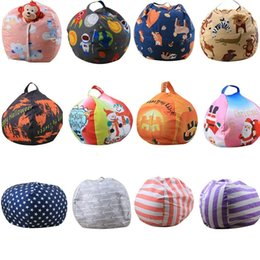 plush toy beans UK - 26inch 55 Design Kids Plush Toys Soft Cotton Clothes Storage Bean Bags Beanbag Tatami Leisure Bag Beanbag Bedroom Stuffed Storag Bags 5PCS
