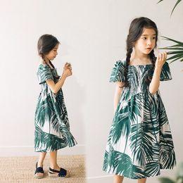 $enCountryForm.capitalKeyWord Australia - Cotton Kids Dresses For Girls 14 12 10 8 6 5 Years Holiday Maxi Long Summer Dress Girl Teenage Beach Children Clothing 2018 J190520