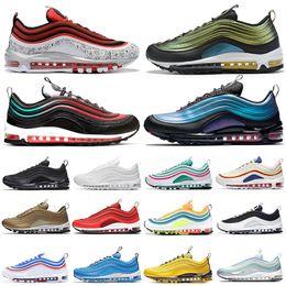$enCountryForm.capitalKeyWord Australia - Top Sale Running shoes for men women Tie Dye Silver Bullet triple black CLEAR EMERALD NEON SEOUL mens trainer fashion sneakers runners