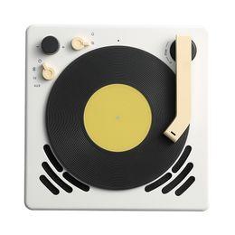 Record Audio Australia - 2019 popular Gramophone Retro Design Speaker Bluetooth record player Alarm Clock sleep timer turntable Suspenable caixa de som portatil BT