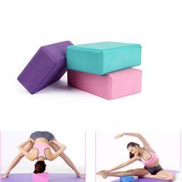$enCountryForm.capitalKeyWord NZ - 1 Pcs Fitness Yoga Foam Foaming Block Brick Exercises Tool Workout Stretching Aid Body Shaping Health Training C19040401