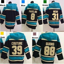 $enCountryForm.capitalKeyWord Australia - Factory Outlet, San Jose Sharks Hoodie 31 Antti Niemi 39 Logan Couture 88 Brent Burns Old Time Hockey Jersey Hoodies Sweatshirt stiched S-3X
