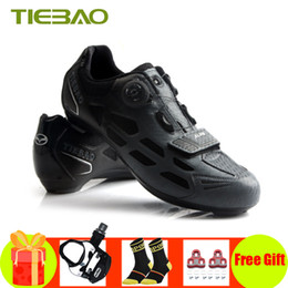 $enCountryForm.capitalKeyWord Australia - Tiebao road bike shoeS sapatilha ciclismo 2019 professional road bicycle shoes self-locking Spinning SPD-SL cycling sneakers