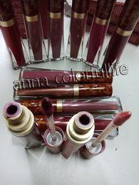 Melted Matte Lipsticks Australia - Melted Matte Liquid Lipstick Faced Lip Gloss Matte Lipstick lipgloss Faced Makeup Melted Lip Gloss 12 color free shipping