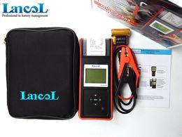 Micro Oil Australia - Lancol MICRO-568 12V Car Battery Load Tester With Printer Digital Automotive Battery Tester SOC SOH CCA IR CCA100-2000