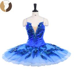 $enCountryForm.capitalKeyWord Australia - FLTOTURE Adult Blue Ballet Tutu For Sale Blue Bird Ballet Costumes Professional Classical Pancake Platter Tutu Skirts