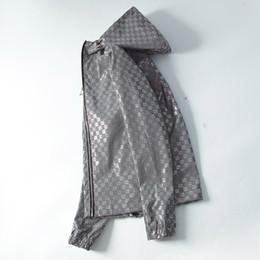 2018 Autunno Inverno Brand New Luxury designer a maniche lunghe medusa giacche a vento uomo Giacche casual in Offerta