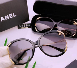 2019 new female polarized sunglasses casual new style glasses texture super personality with box full set on Sale