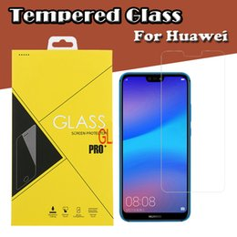 $enCountryForm.capitalKeyWord Australia - 9H Premium Clear Tempered Glass Screen Protector Film Guard For Huawei Y9 Y7 Y6 Pro Y5 Prime P Smart Plus Enjoy 9E 9S Shockproof Have Box