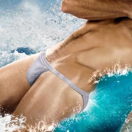 Pool Suit Australia - Austinbem Swimsuit Men Swimming Briefs Sexy Bikini Mens Swim Thong Gay Swimwear Beach Sea Swimming Pool Bathing Suit Surf Board Short