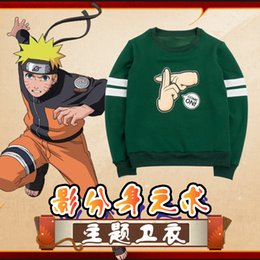 Wholesale uzumaki naruto cosplay costumes for sale - Group buy Halloween Unisex Anime Uzumaki Naruto Hatake Kakashi Cosplay Costume Long Sleeve Casual Hoodie Sweater Asian Size