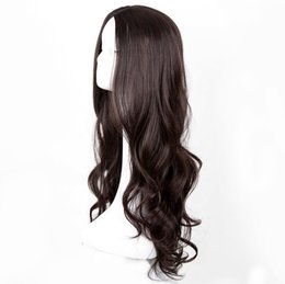 Synthetic None-lacewigs Hair Extensions & Wigs Silver Women Wig Fei-show Synthetic Heat Resistant 24long Wavy Hair Carnival Party Halloween Costume Cosplay Hairpiece Latest Fashion