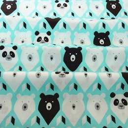 Sewing Baby Bedding Australia - 160CM*50CM cartoon cotton fabric sewing baby cloth infant linens kids bedding fabric cushion patchwork in style