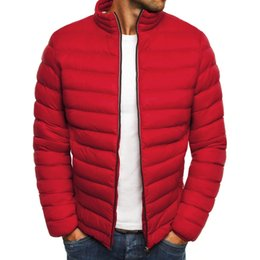 Zipper Clothes Australia - ZOGAA Fashion Men Clothes 2018 Warmth Cotton Parkas Trench Coat Casual Zipper Slim Fit Men's New Brand Jacket