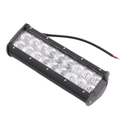 car led spotlight bar Australia - 54W 5D Flood & Spot LED Working Light Spotlight LED Light Bar For Car Auto