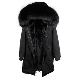$enCountryForm.capitalKeyWord Australia - 2019 New Real Fur Parka Men Winter Jacket Real Raccoon Fur Hooded Coats Nature Raccoon Dog Lining Jacket Man Real Fur Coat Y190912