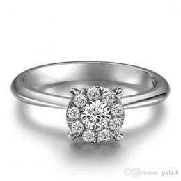 $enCountryForm.capitalKeyWord Australia - 2018 New Drop Shipping Free Simulated Diamond 1 cm Band Wedding Anniversary Sterling Solid 925 Silver Ring