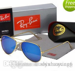 $enCountryForm.capitalKeyWord Australia - SALE ! 2019 Mens Womes Sun Glasses Eyewear Gold Frame Brown 58mm 62mm Glass Lenses Large Metal With Better Brown Case Hot