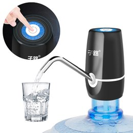 $enCountryForm.capitalKeyWord Australia - Mini Touch-tone Wireless Rechargeable Electric Dispenser Pump With Usb Cable   Tube For 4.5l - 18.9l Barrelled Water Q190604