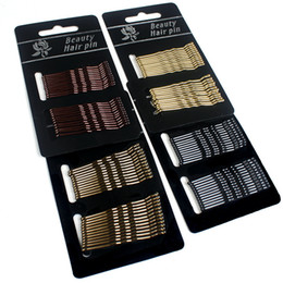 black women wedding hair styles UK - 24pcs Hair Clip Ladies Hairpins Girls Hairpin Curly Wavy Grips Hairstyle Hairpins Women Bobby Pins Styling Hair Accessories
