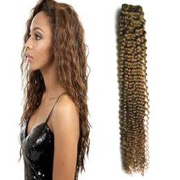 $enCountryForm.capitalKeyWord Australia - Afro Kinky Curly Coily Brazilian Hair Weave Bundles Remy Human Hair Extensions 100g 100% Human Hair Extension