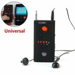 lens finder wireless camera detector 2019 - Wireless Camera Lens Detector Camera Finder CC308+ Full-range WiFi RF Mobile Phone Singnal Bug Laser GSM Device Finder