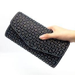 Crystal designer evening bags online shopping - Women Evening Bags Handbag Designer Rhinestone Crystal Clutch Evening Bags For Womens Wedding Party Bag Purse Bolsas