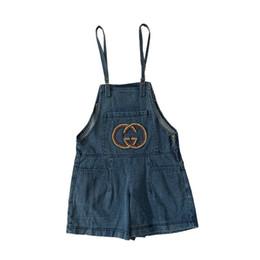 $enCountryForm.capitalKeyWord Australia - 19ss luxurious Brand design beading big logo jeans denim Suspenders Trousers Lady Women fashion sport Jogger Sweatpants Outdoor Pants